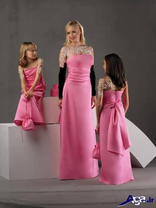 مدل لباس ست بلند دختر و مادر