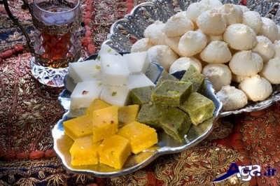 دستور تهیه 3 نوع شیرینی عید