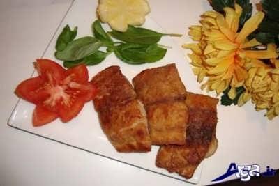 ماهی کپور سرخ شده