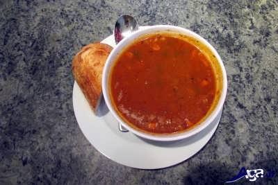 سوپ جو رستورانی