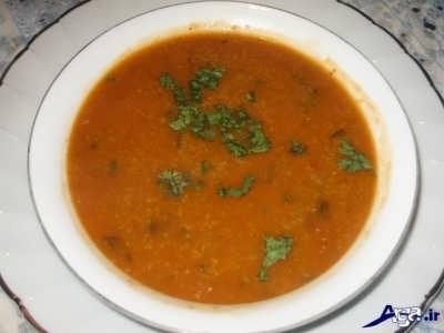 طرز تهیه سوپ جو در رستوران
