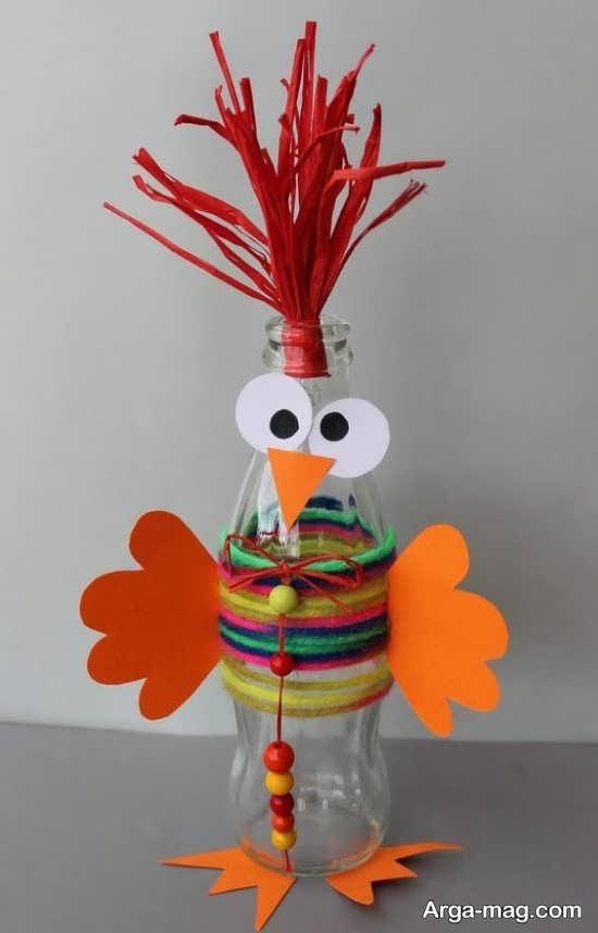 جدیدترین خلاقیت ساخت خروس