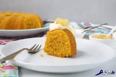 طرز تهیه کیک با زعفران