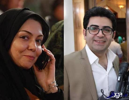 عکس آزاده نامداری و فرزاد حسنی