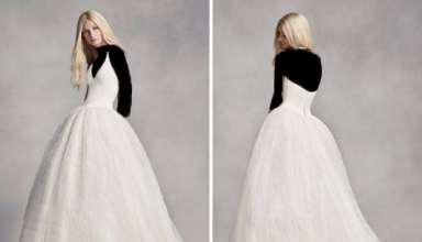 مدل لباس عروس ساده با طرح کوتاه و بلند