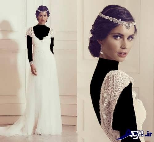 مدل لباس عروس با طرح جدید