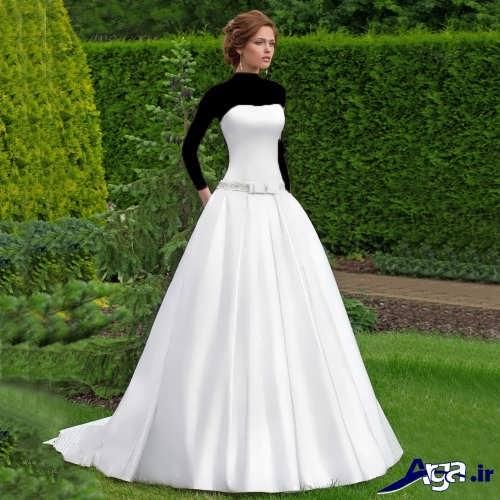 مدل شیک و متفاوت لباس عروس