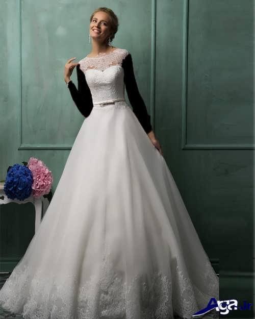 مدل لباس عروس شیک و ساده