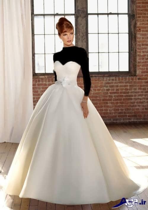 مدل لباس عروس پفی و ساده