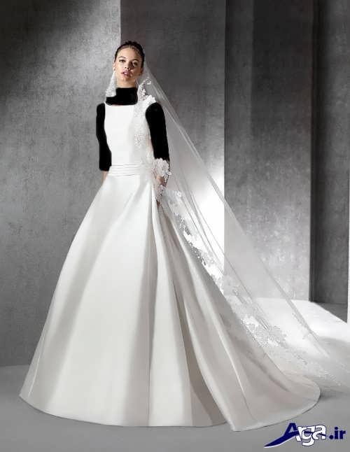 مدل لباس عروس زیبا و ساده