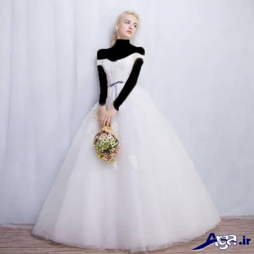 مدل لباس عروس پفی جدید