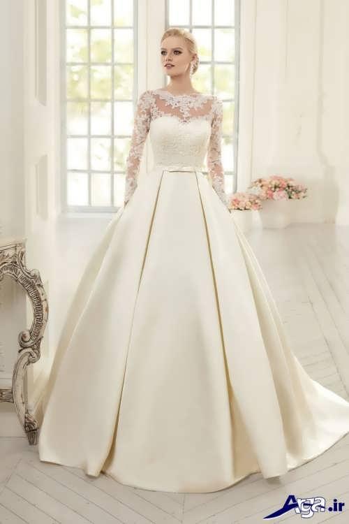 لباس عروس ساده و اروپایی