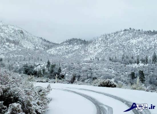 منظره های برفی زیبا