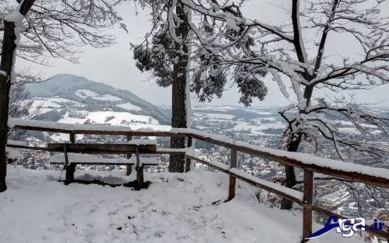 عکس های برفی زیبا
