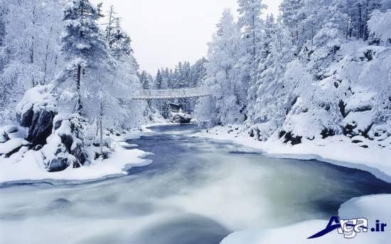 مناظر زیبا و دلچسب زمستانی