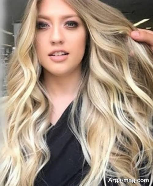 رنگ مو وانیلی