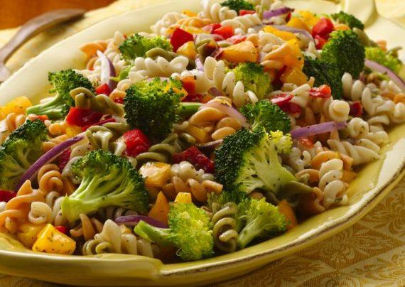 طرز تهیه پاستا سبزیجات در منزل