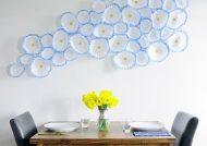 تزیین دیوار با کاغذ