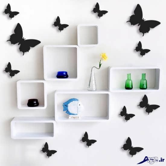تزیین دیوار زیبا و شیک با کاغذ