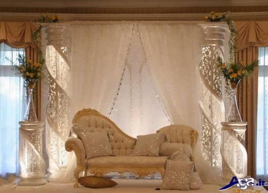 عکس های تزیین جایگاه عروس و داماد