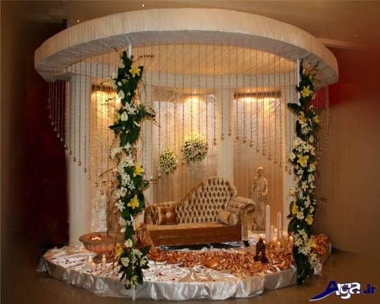 تزیین جایگاه برای عروس در خانه