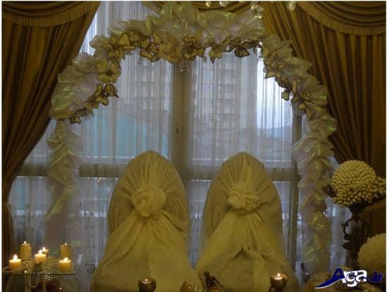 تزیین صندلی های عروس