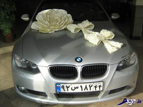 مدل ماشین عروس تزیین شده
