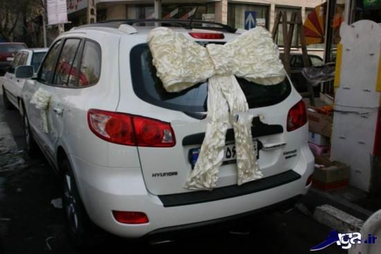 تزیینات ماشین عروس ایرانی