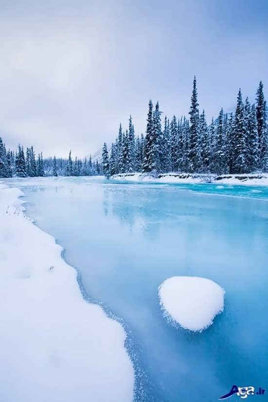 عکس رودخانه زیبای کانادا