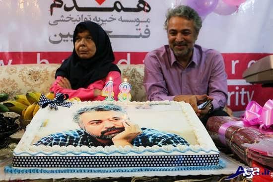 جشن تولد حسن جوهرچی در موسسه خیریه