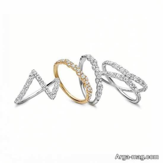 حلقه ازدواج زنانه ظریف