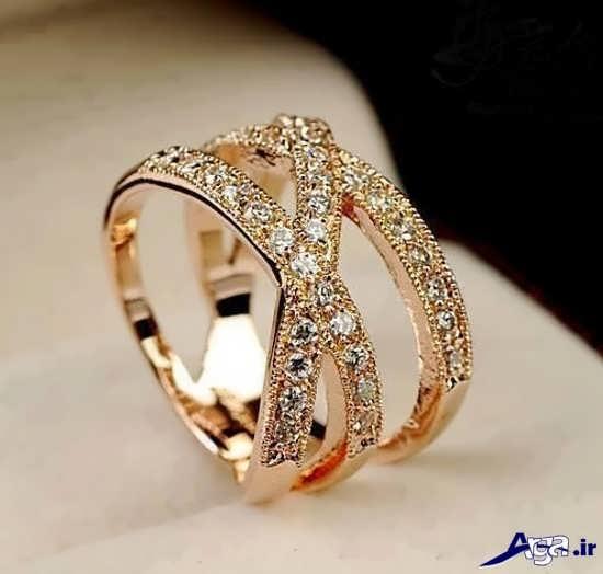 حلقه ازدواج زنانه شیک و زیبا