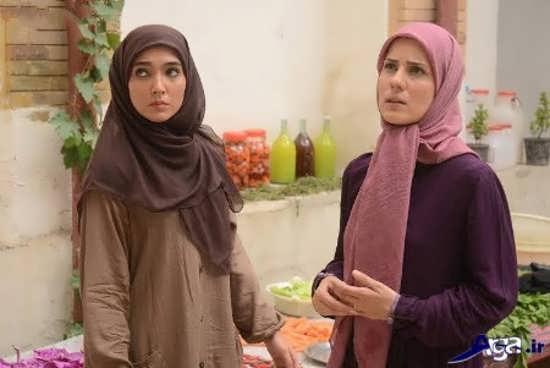 عکس سارا بهرامی در سریال پرده نشین