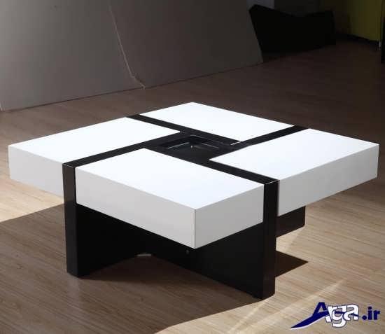مدل میز مدرن سلطنتی با طرح شیک