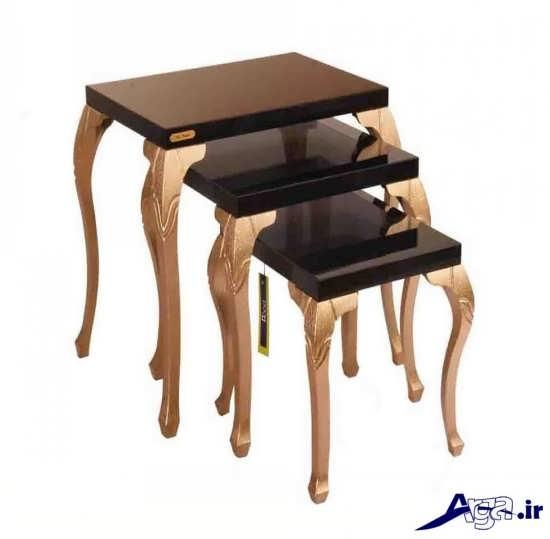 میز عسلی سلطنتی با طرح زیبا