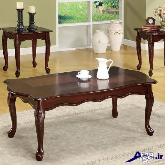 مدل میز سلطنتی عسلی