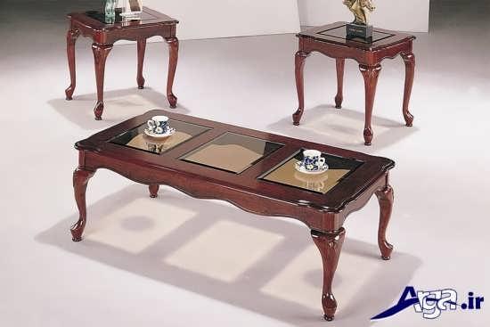مدل زیبا و متفاوت میز عسلی