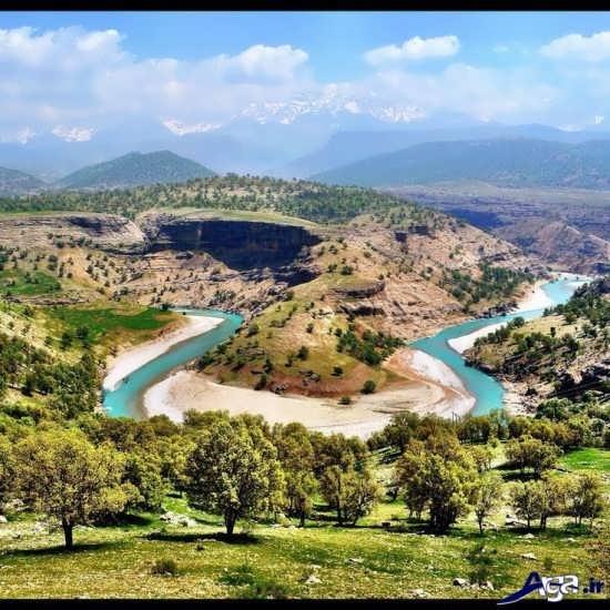 عکس های زیبا از رودخانه های زیبا ی ایران