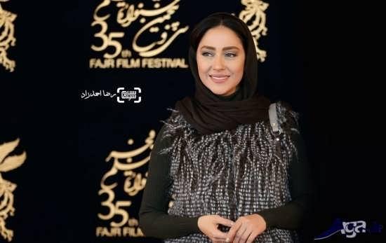 بهاره کیان افشار در جشنواره سی و پنجم فجر