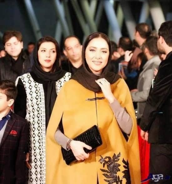 عکس های بهاره کیان افشار در جشنواره فجر سی و پنجم
