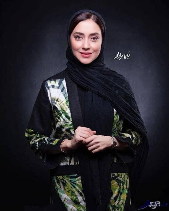 عکس های بهاره کیان افشار بازیگر سریال کلاه پهلوی