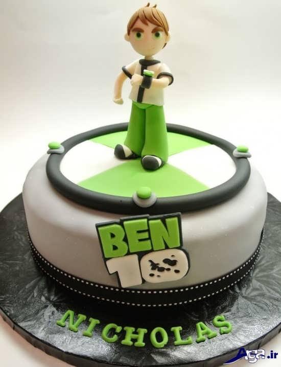 مدل کیک تولد بن تن