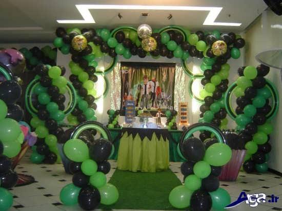 عکس تزیینات جشن تولد بن تن