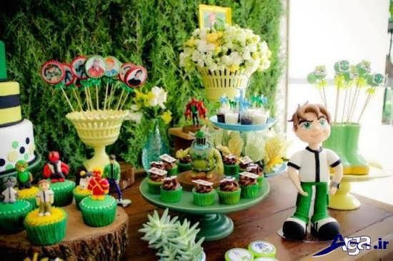 مدل تزیینات جشن تولد پسرانه