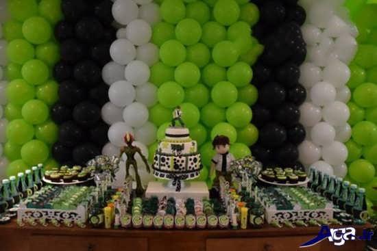 دیزاین جشن تولد پسرانه