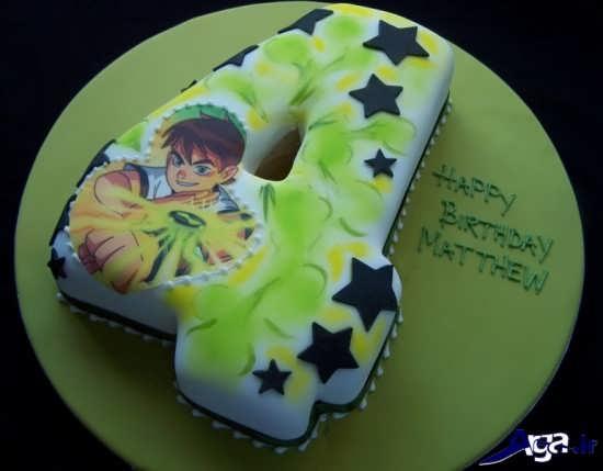 تزیین کیک تولد پسرانه بن تن