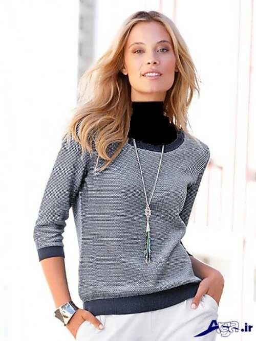 مدل بلوز اسپرت زنانه شیک