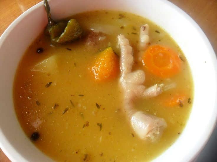 طرز تهیه ماسک صورت با پای مرغ طرز تهیه سوپ پای مرغ مقوی با طعم بسیار عالی و فواید آن
