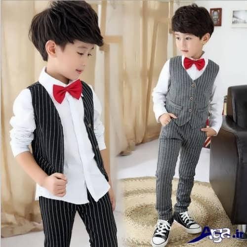 مدل لباس بچه گانه پسرانه مجلسی شیک و جدید