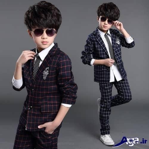 مدل لباس بچه گانه پسرانه مجلسی با طرح شیک و زیبا